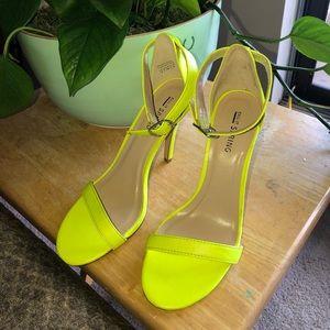 Call it Spring Neon Heels